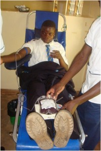 Blood donation school