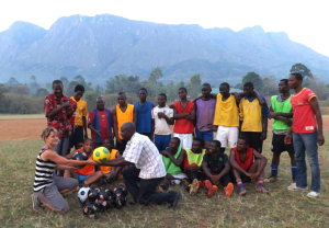 Football donation